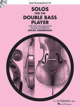 Solos for the Double-Bass Player Book with CD - Schirmer Ed.