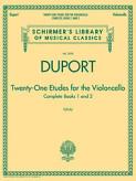 Duport 21 Etudes for Cello