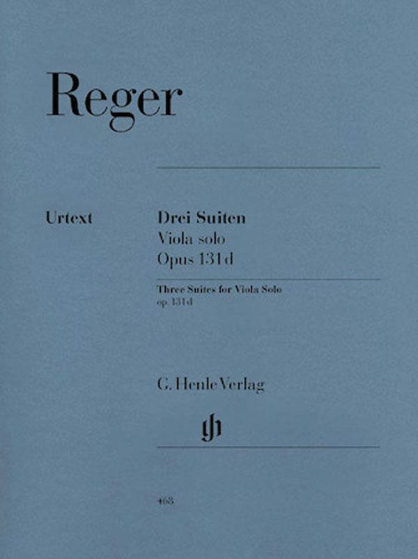 Reger Three Suites for Viola – Henle Ed.