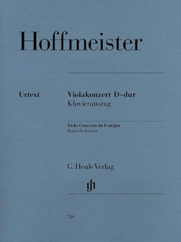 Hoffmeister Concerto in D major for Viola – Henle Ed.