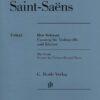Saint Saens Allegro Appassionato for Cello, Op. 43