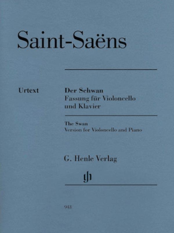 Saint Saens The Swan for Cello – Henle Ed.