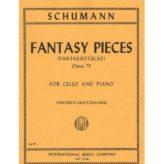 Schumann Fantasy Pieces for Cello, Opus 73 - International Ed.