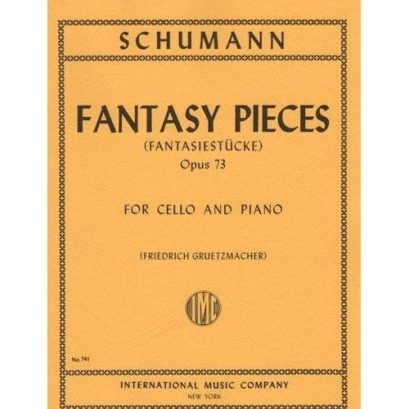 Schumann Fantasy Pieces for Cello, Opus 73 – International Ed.