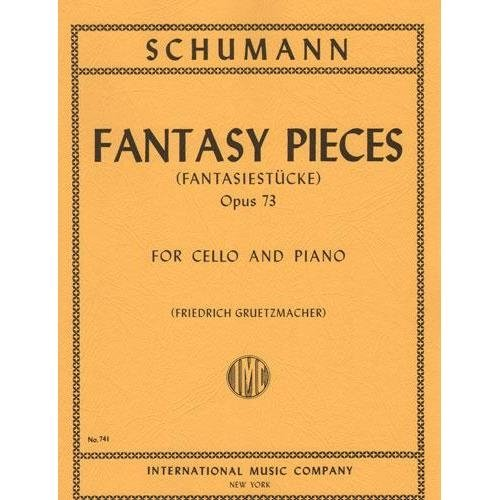 Schumann Fantasy Pieces for Cello, Opus 73 - International Ed.