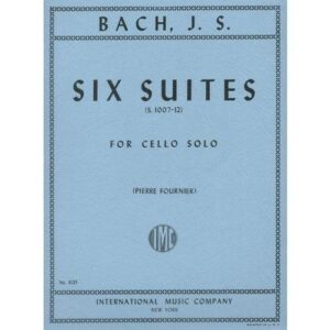 Bach Six Suites for Cello - International Ed.