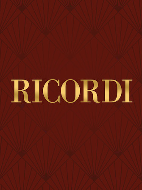 Bach Six Sonatas and Partitas for Viola – Ricordi Ed.