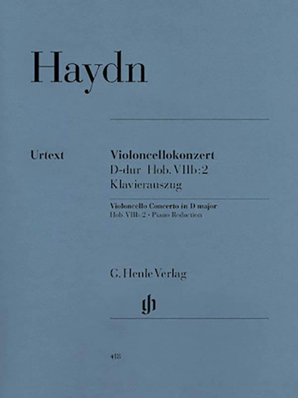Haydn Concerto in D Major for Cello, Hob. VIIb – No. 2 – Henle Ed.