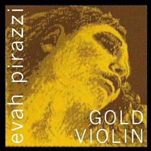 evah pirazzi gold violin
