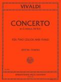 Vivaldi Concerto in G minor for Two Cellos and Piano, RV 531 - International Ed.