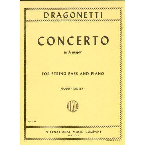Dragonetti Concerto in A major for Bass - International Ed.