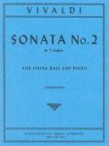 Vivaldi Sonata No. 2 for Bass in F major, RV 41- International Ed.