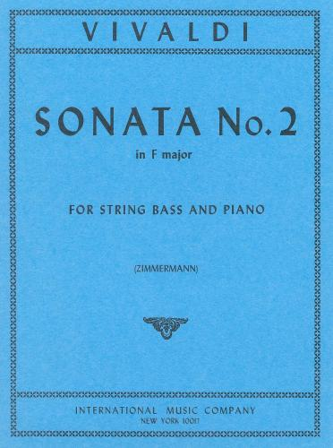 Vivaldi Sonata No. 2 for Bass in F major, RV 41- International Ed.
