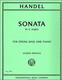 Handel Sonata in C Major for Bass - International Ed.
