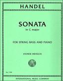 Handel Sonata in C Major for Bass - International Ed.