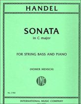 Handel Sonata in C Major for Bass – International Ed.