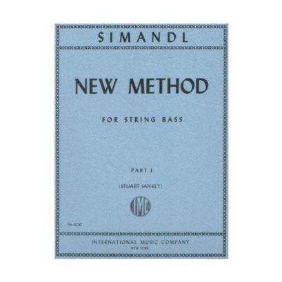 Simandl New Method for Bass, Part I – International Ed.