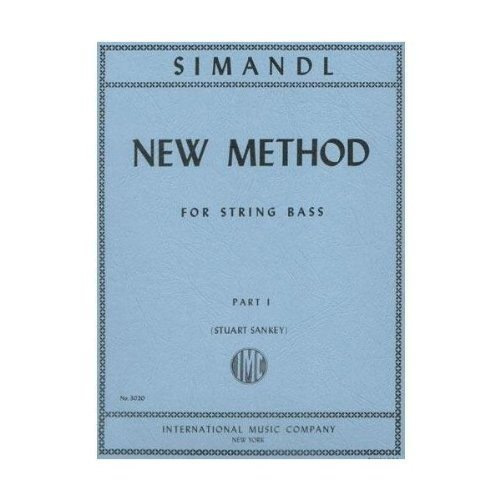 Simandl New Method for Bass, Part I - International Ed.