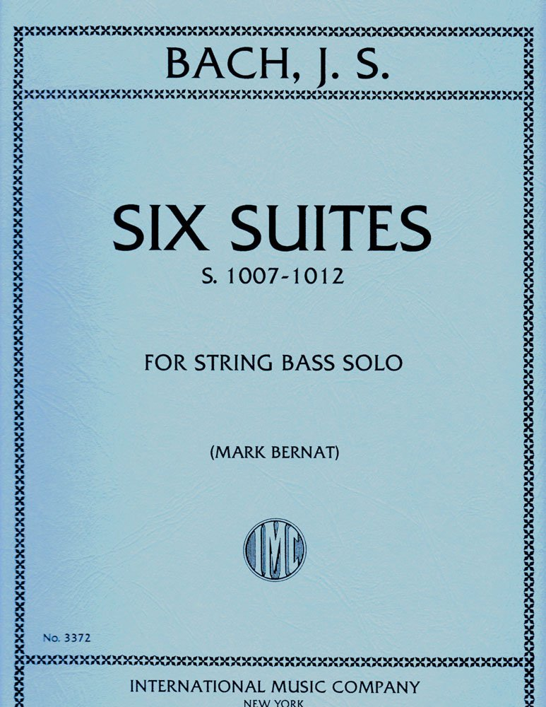 Bach Six Suites for Bass, S. 1007-1012 - International Ed.