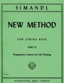 Simandl New Method for Bass, Part II - International Ed.