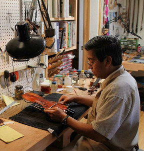 Violin Outlet Welcomes Juan Soto to the Repair Team