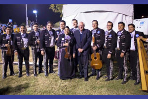 Mariachi Mexico Antiguo Plays for Bernie Sanders Rally