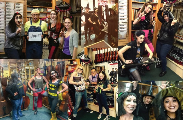 Violin Outlet Rocks Halloween 2015