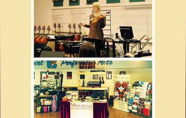 Violin Outlet Attends Violin Day 2015