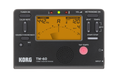 Korg TM-60 Chromatic Tuner Metronome