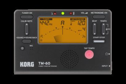 Korg TM-60 Chromatic Tuner Metronome