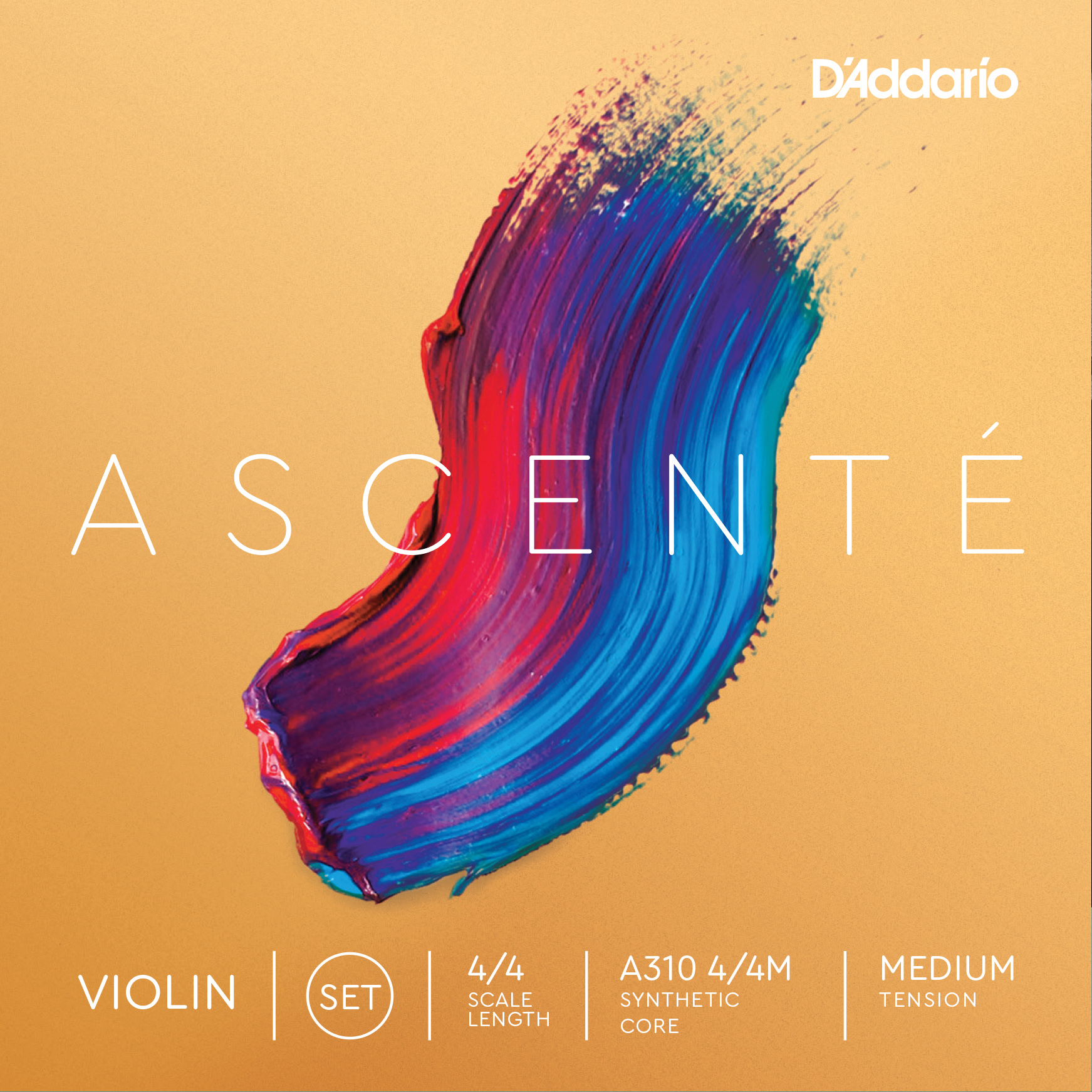 D'Addario Ascenté Violin Strings - Set