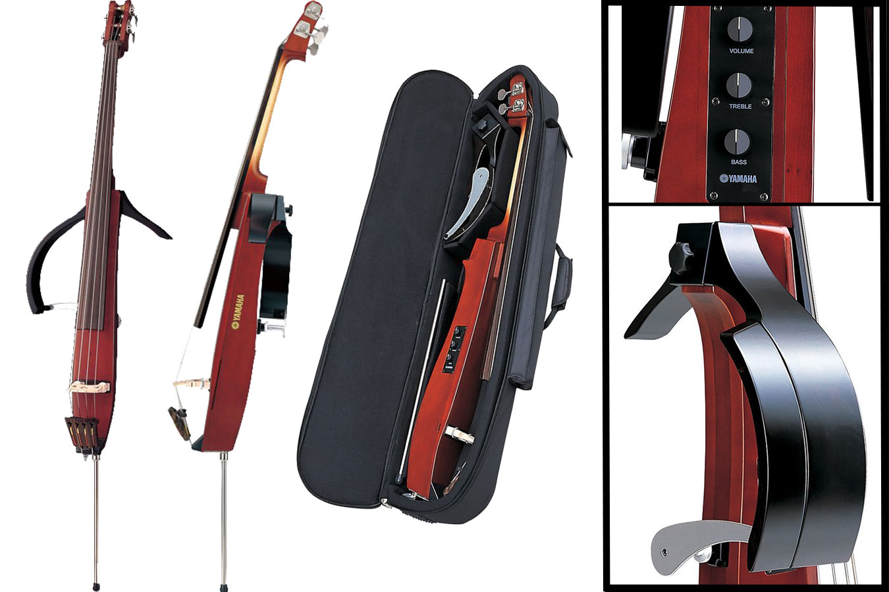Yamaha SVB200-SK Silent Electric Bass