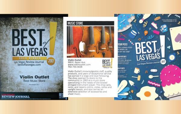Best of Las Vegas Music Store 2017