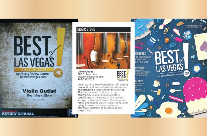 Best Of Las Vegas Music Store 2017 Violin Outlet