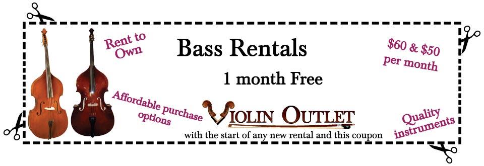 bass rental coupon