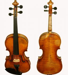 1980's European Bench Copy of Paulus Pilat Violin