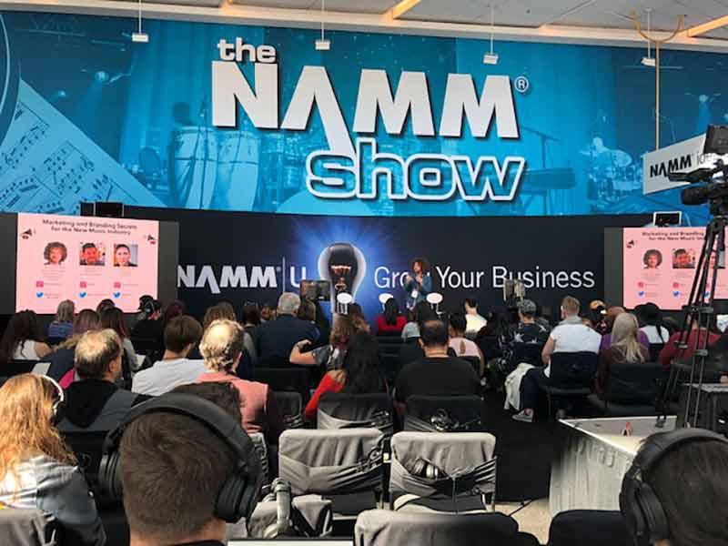 Violin Outlet at NAMM 2019