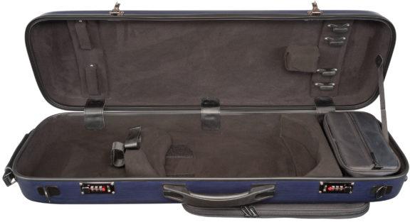 Core CC450 Oblong Scratch Resistant Violin Case Blue