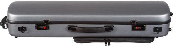 Core CC450 Oblong Scratch Resistant Violin Case Silver