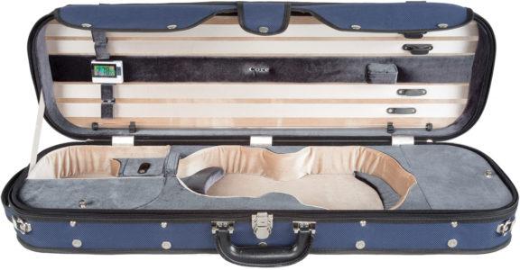 Core CC535 Two Tone Violin Case Blue