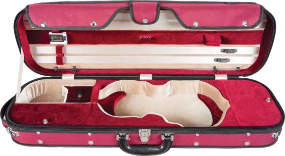 Core CC535 Two Tone Oblong Violin Case