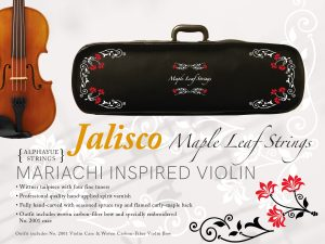 New Mariachi Inspired Violin Outfit Launched