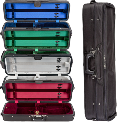 Bobelock Featherlite Velvet Violin Case