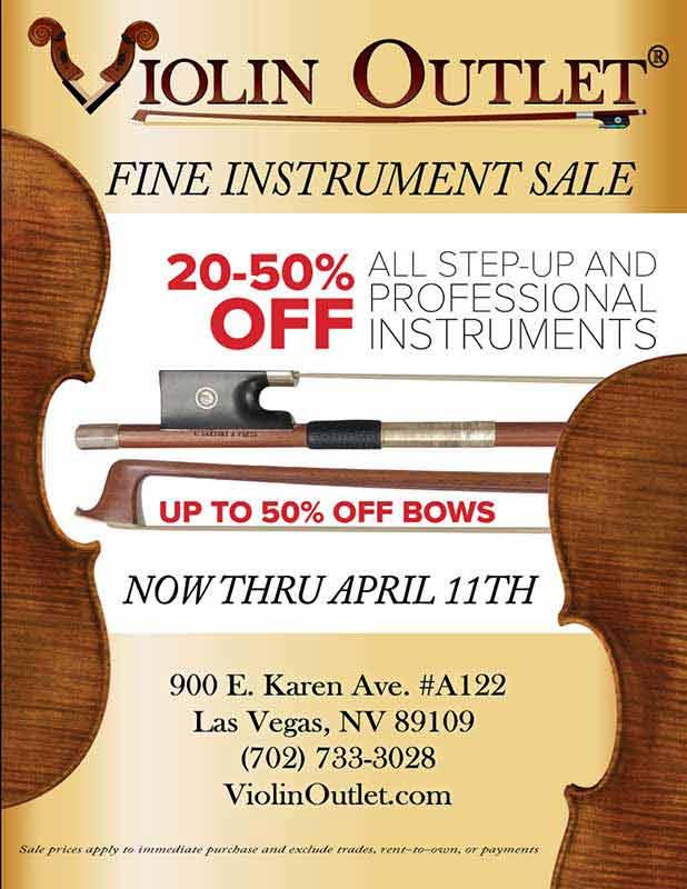 fine instrument sale 2020