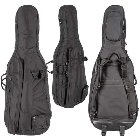 Core CC482W Padded Cello Cover with Wheels