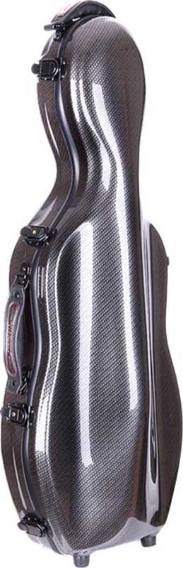 tonarelli cello shaped viola case checkered