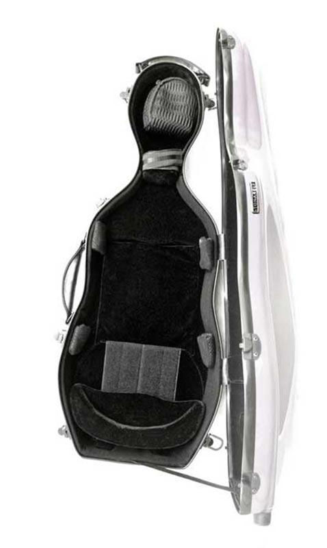 tonarelli cello shaped viola case interior