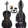 Glasser Carbon Composite Acoustic Electric Cello Outfit