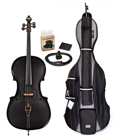 Glasser Carbon Composite Acoustic Electric Cello Outfit