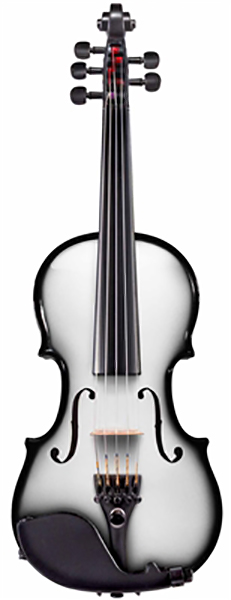 Glasser AEX Carbon Composite Acoustic Electric Violin Outfit